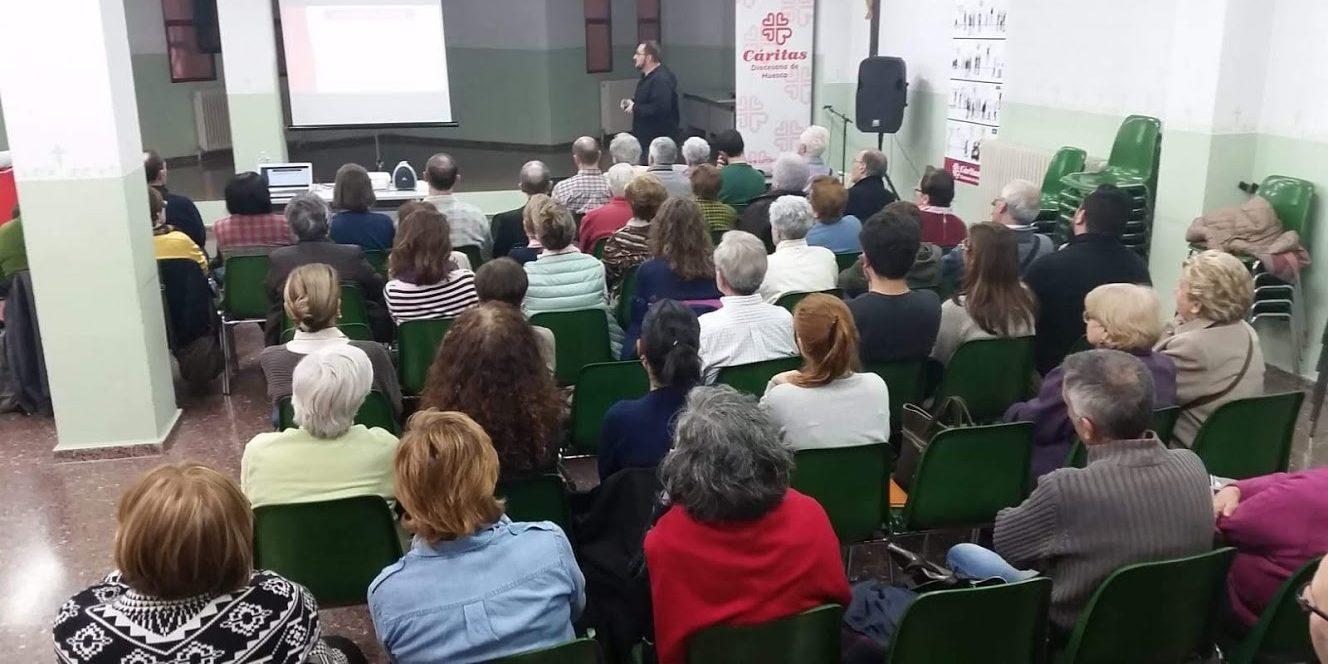 Cáritas Huesca llama al compromiso y a la reflexión sobre la vivienda en Huesca