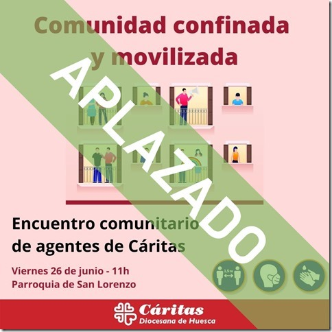Encuentro comunitario de agentes de Cáritas. APLAZADO.