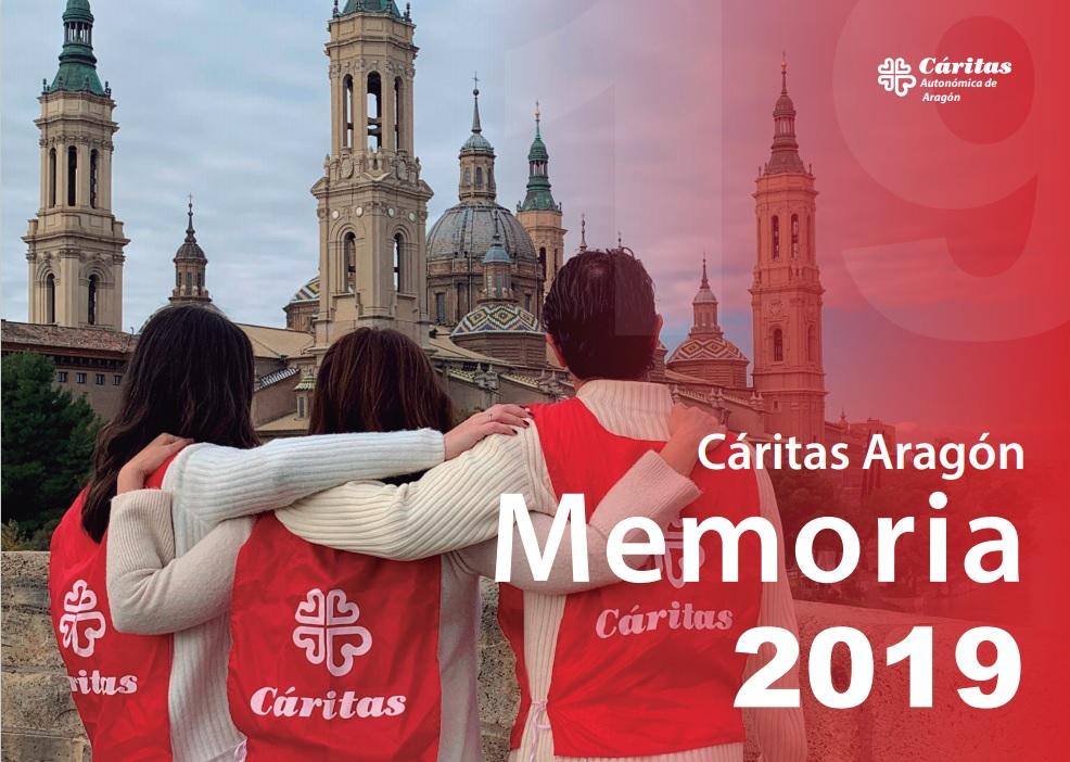Cáritas en Aragón acompañó a 23.754 personas en 2019
