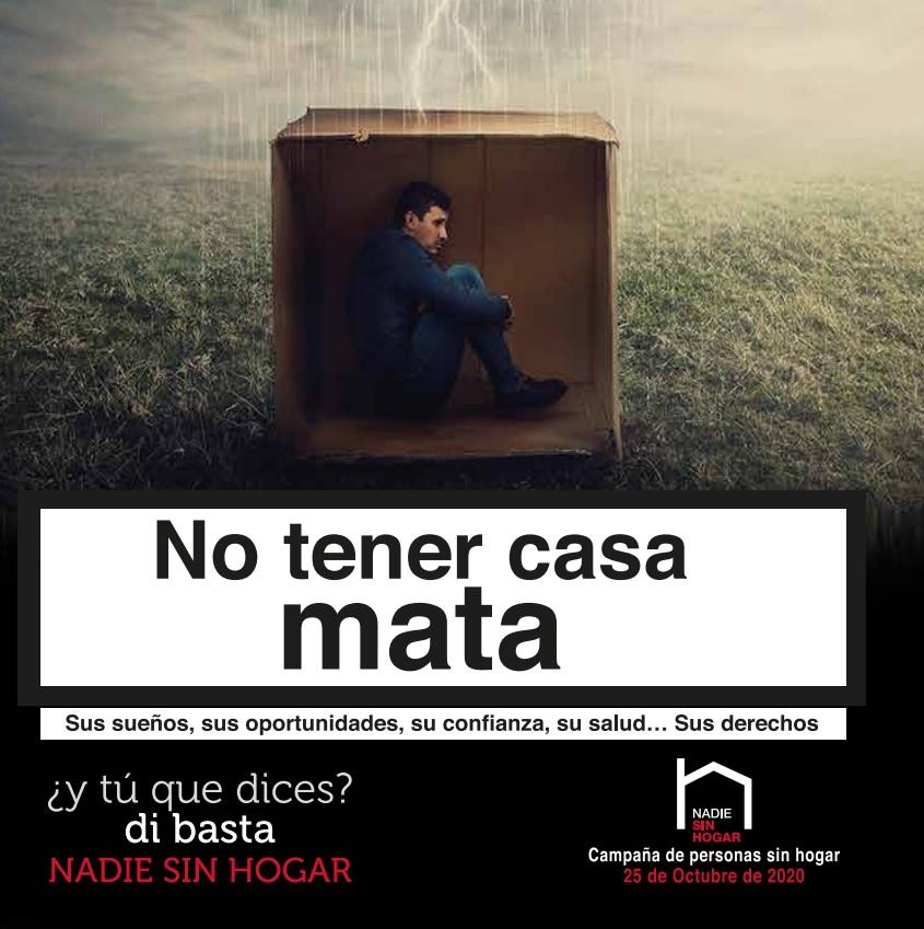 «No tener casa mata», vivienda digna