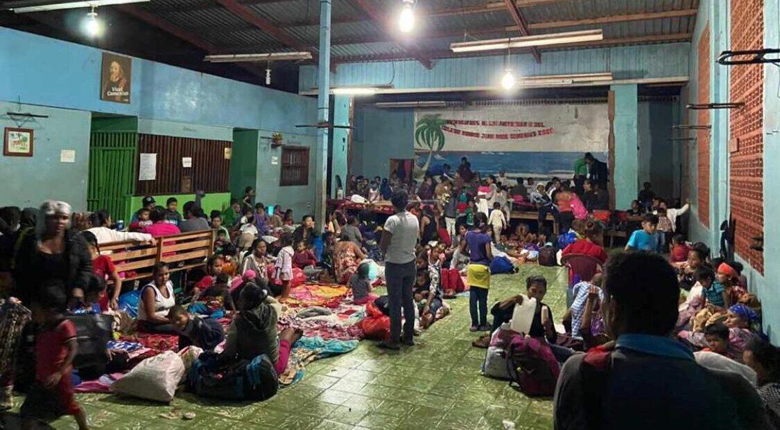 Campaña de emergencia `Cáritas con Centroamérica`