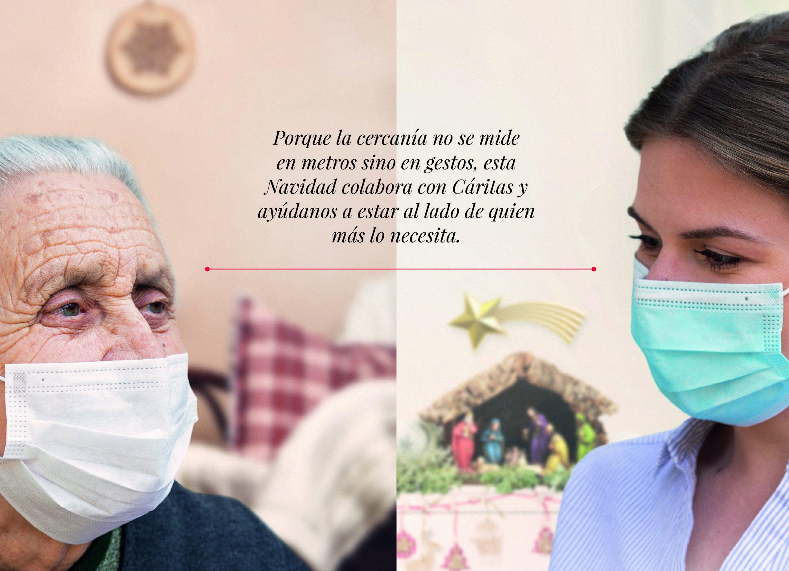 Esta Navidad, Cáritas Huesca más cerca que nunca