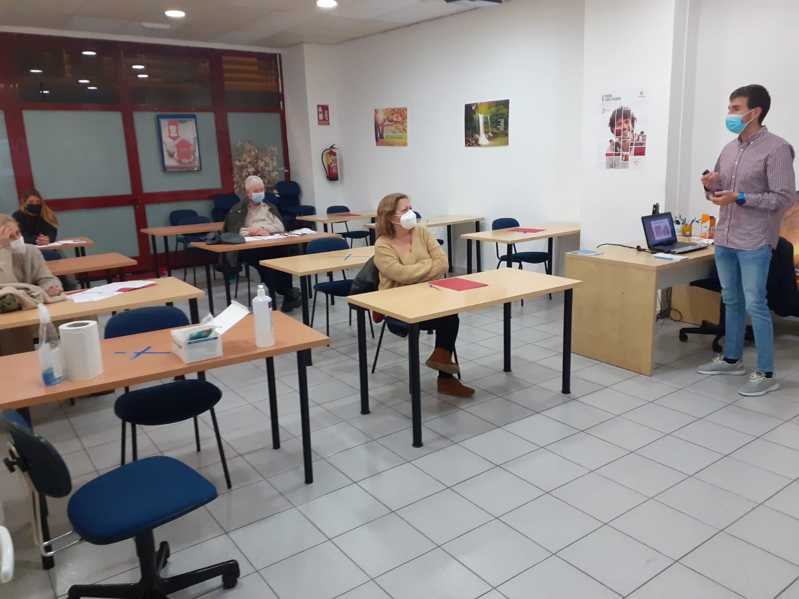 Formación básica sobre Cáritas Huesca en tiempos de la COVID-19