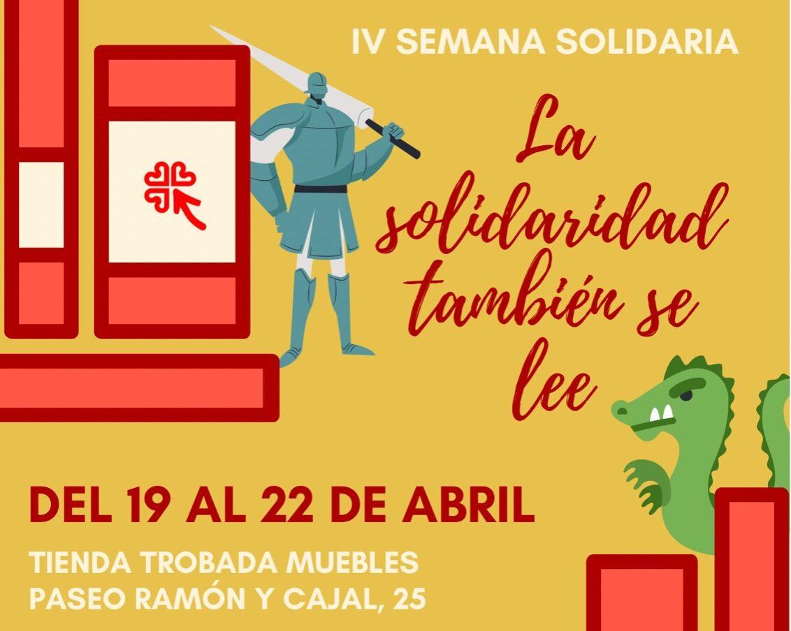 IV Semana Solidaria: «La solidaridad también se lee»