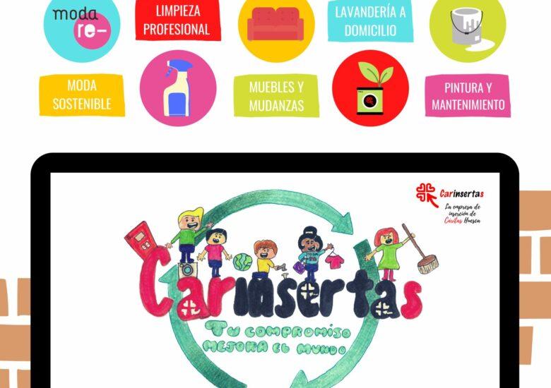 Carinsertas celebra el Día del Reciclaje con un Rastrillo de Hogar Especial