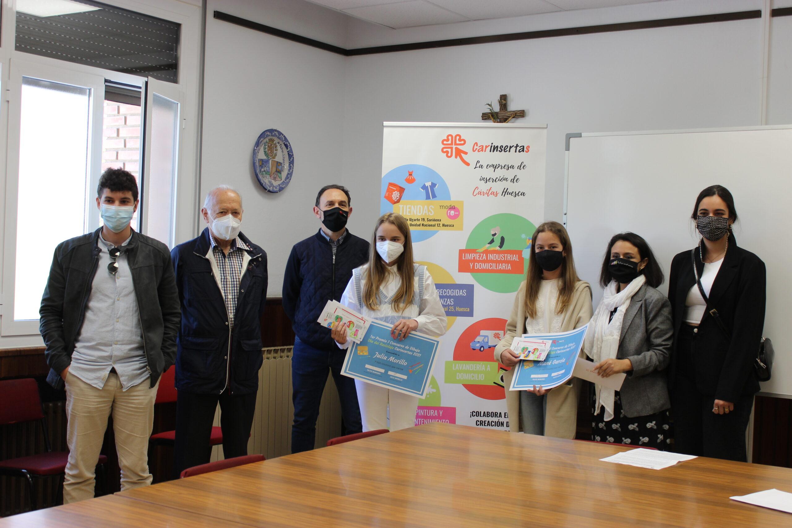 Carinsertas organiza su I Concurso de Diseño Artístico sobre economía solidaria y reciclaje